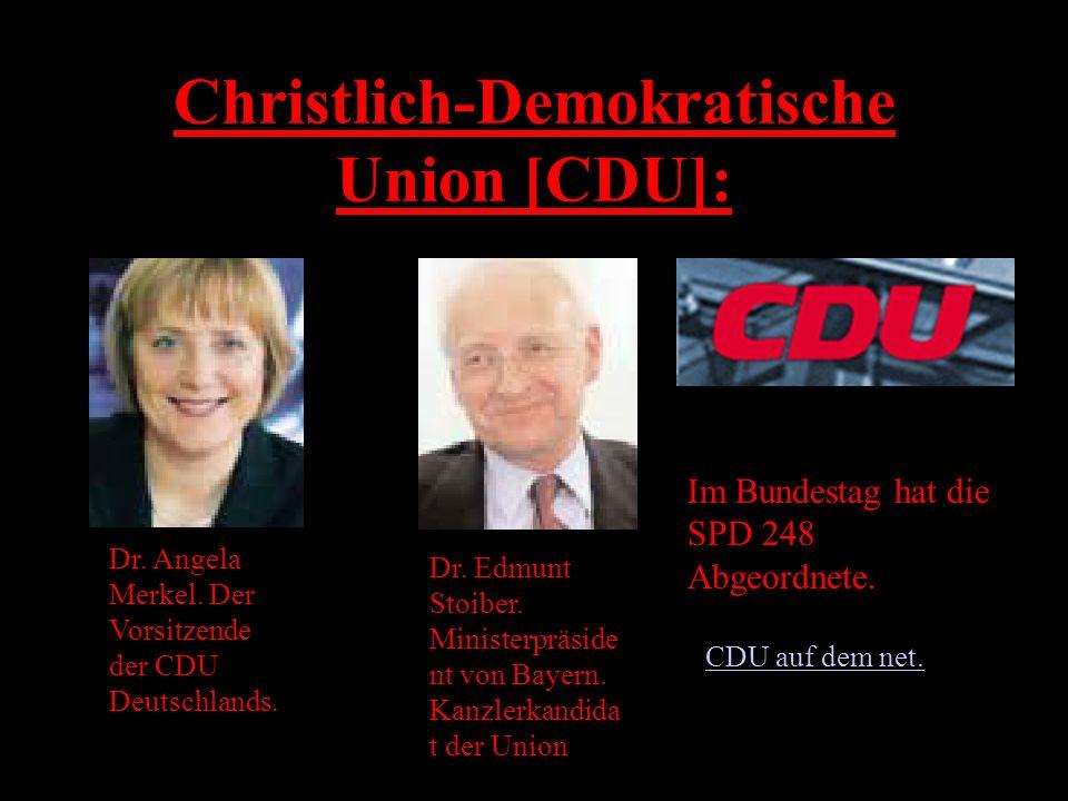 Christlich-Demokratische Union [CDU]: